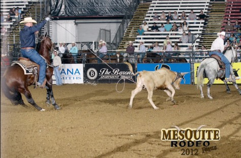 Coyote Rock's Drag and Fly and Im a Tuff Bueno take Reserve Championships at Mesquite's PRCA rodeo year end finals!